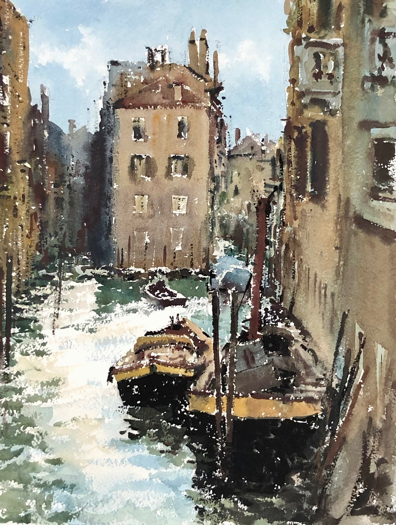 From the Ponte Panada Venice: 15 x 11.5 in: £750