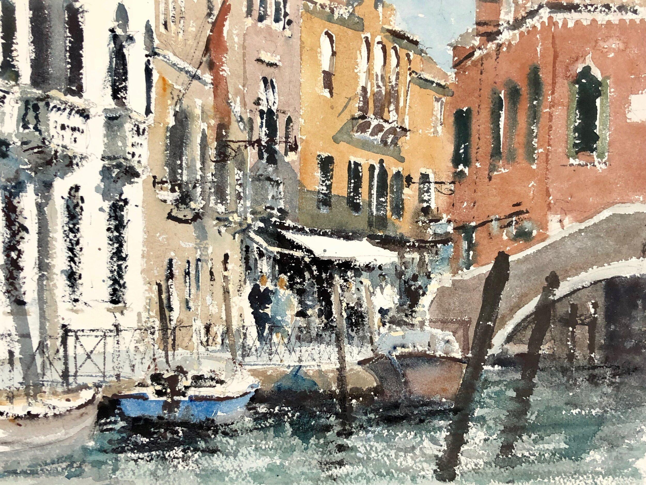 Fondamenta Minotto Venice: 11 x 15.5 in: £750