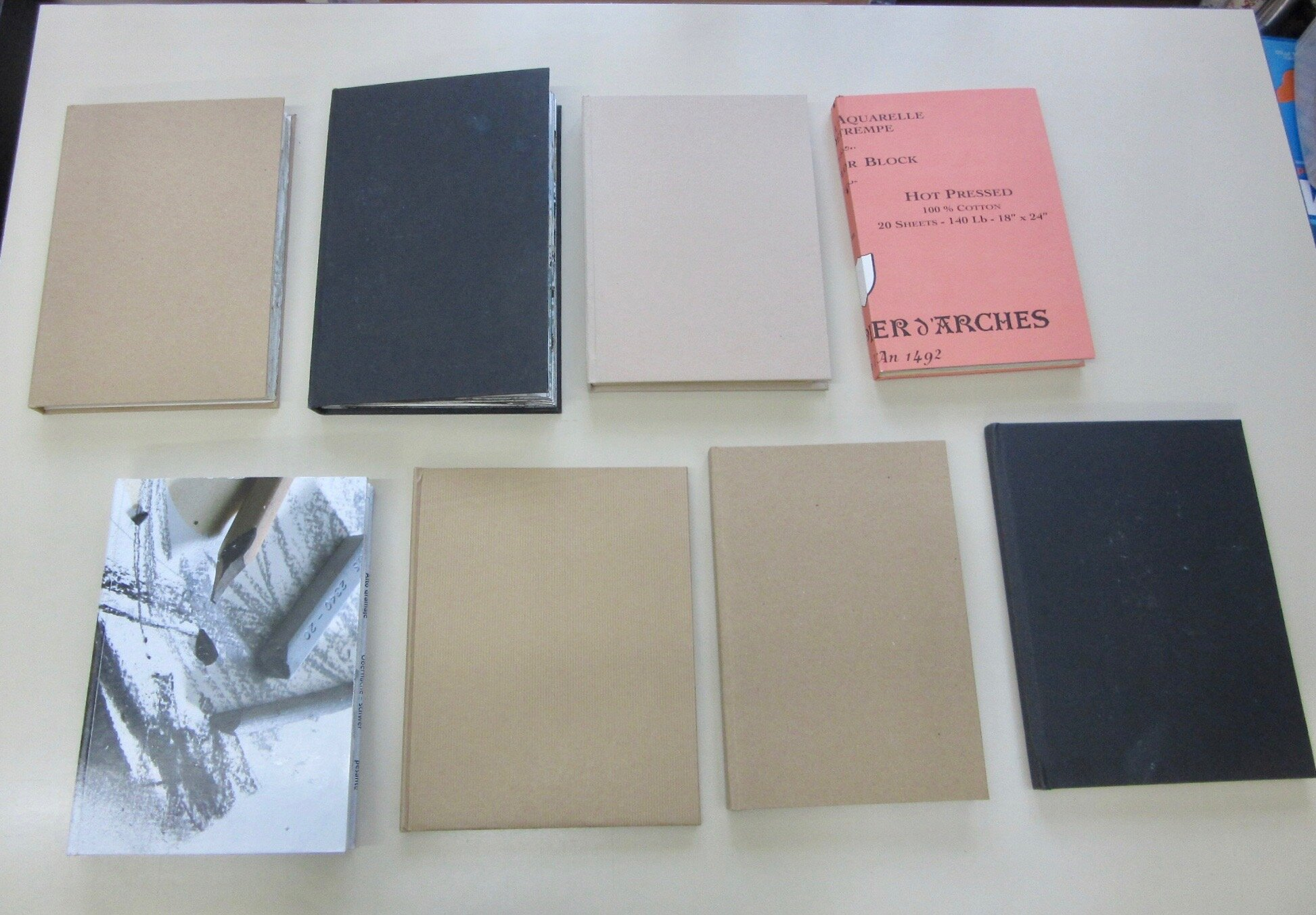 Selection of recent sketchbooks