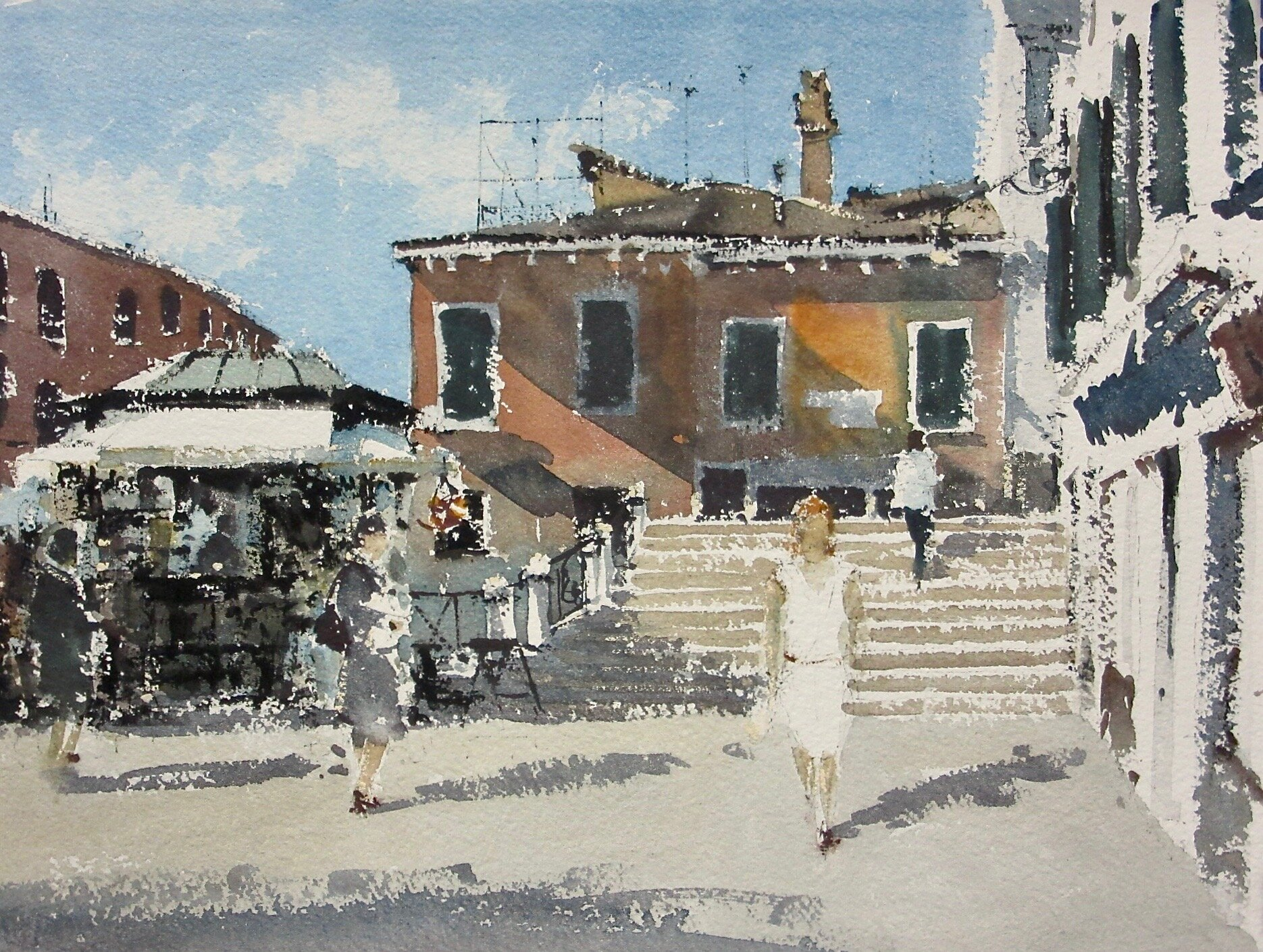 Campo San Pantalon Venice: 11 x 15.5 in: £750