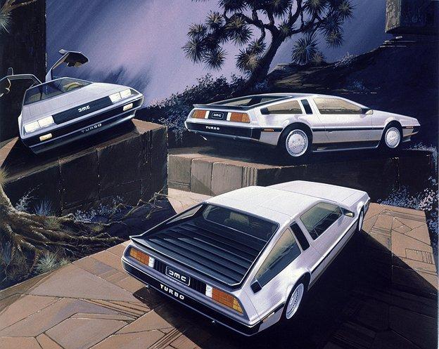1976 DeLorean DMC 12