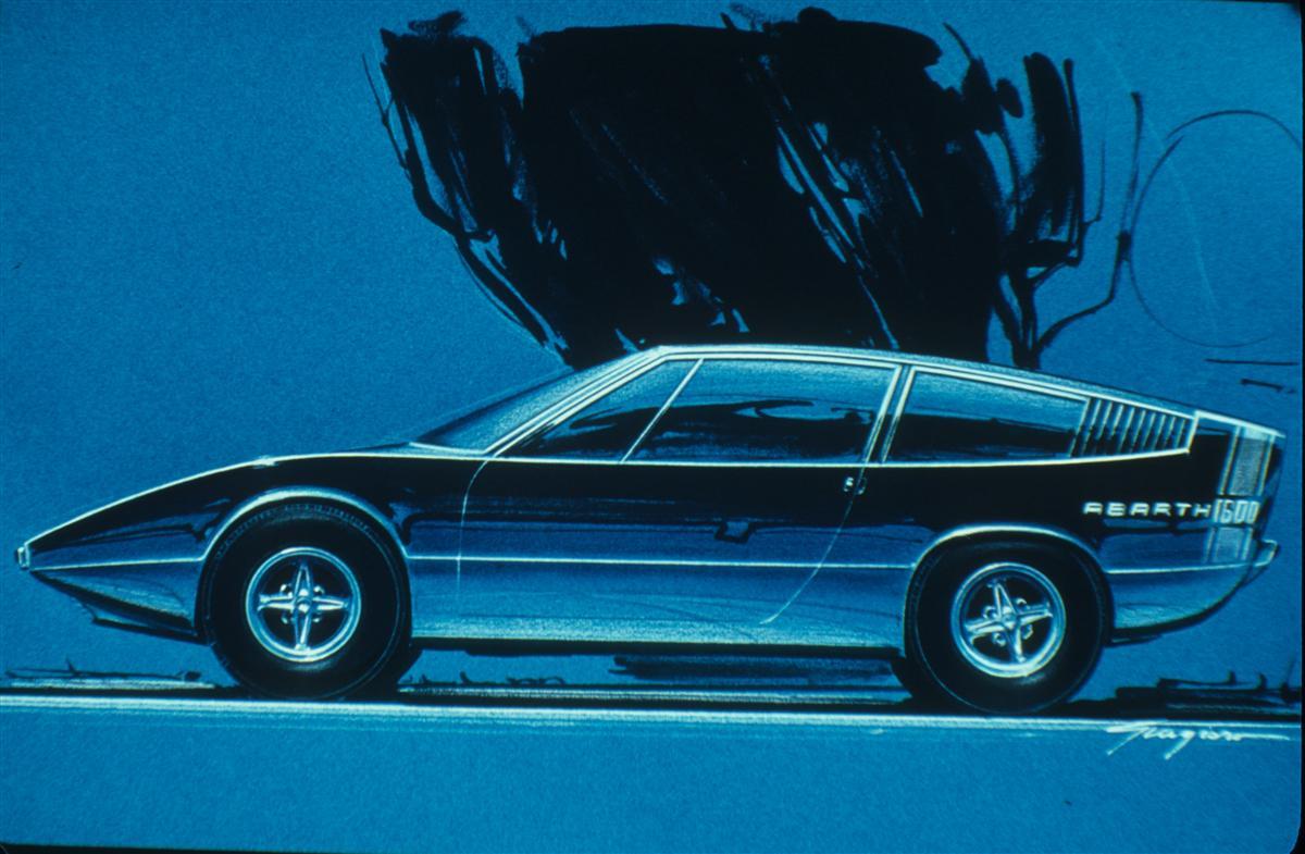 1969 Abarth 1600 Coupé