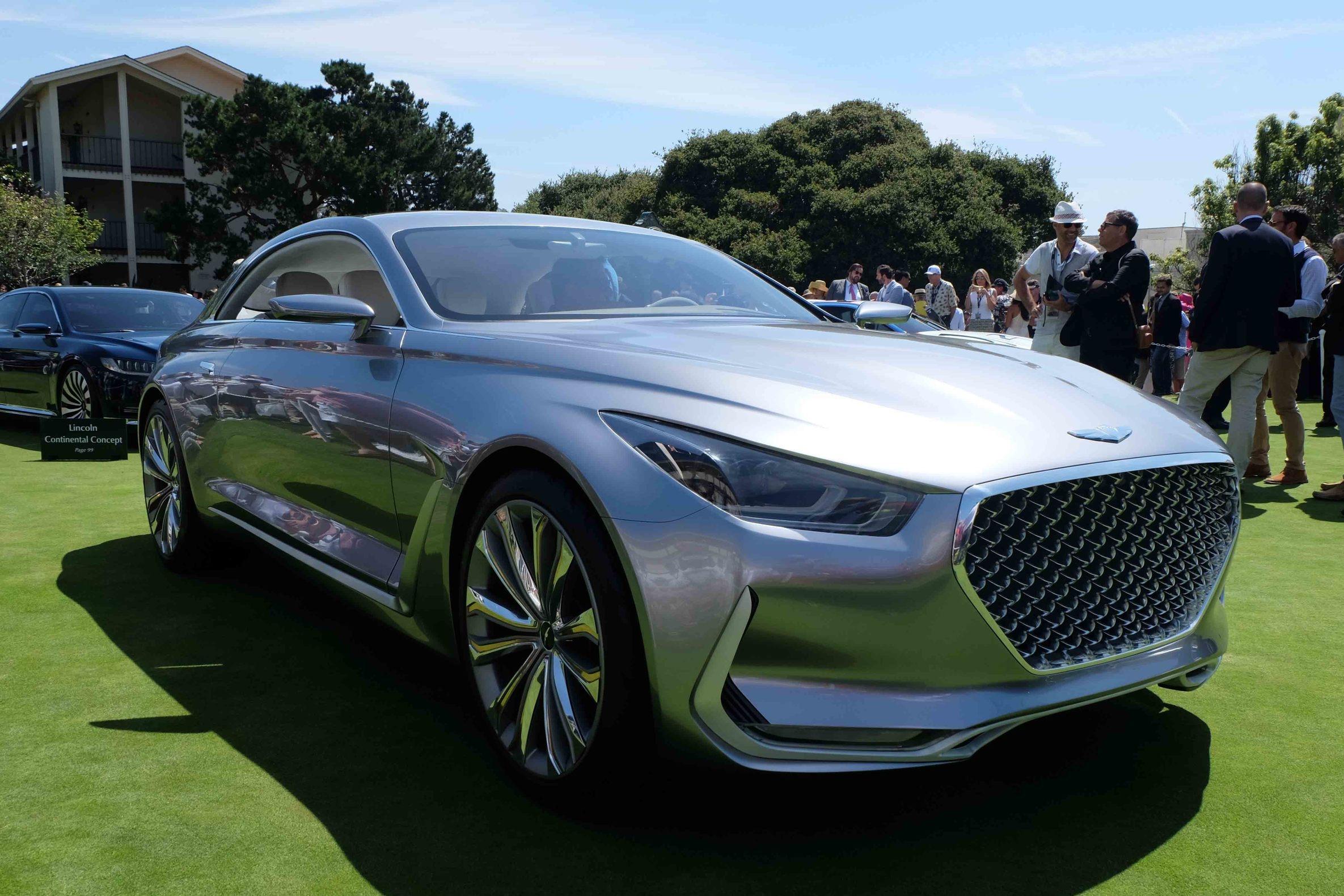 Hyundai Vision G Coupe Concept (2015)