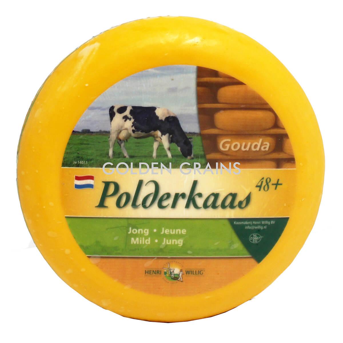 Polderkaas Gouda Cheese