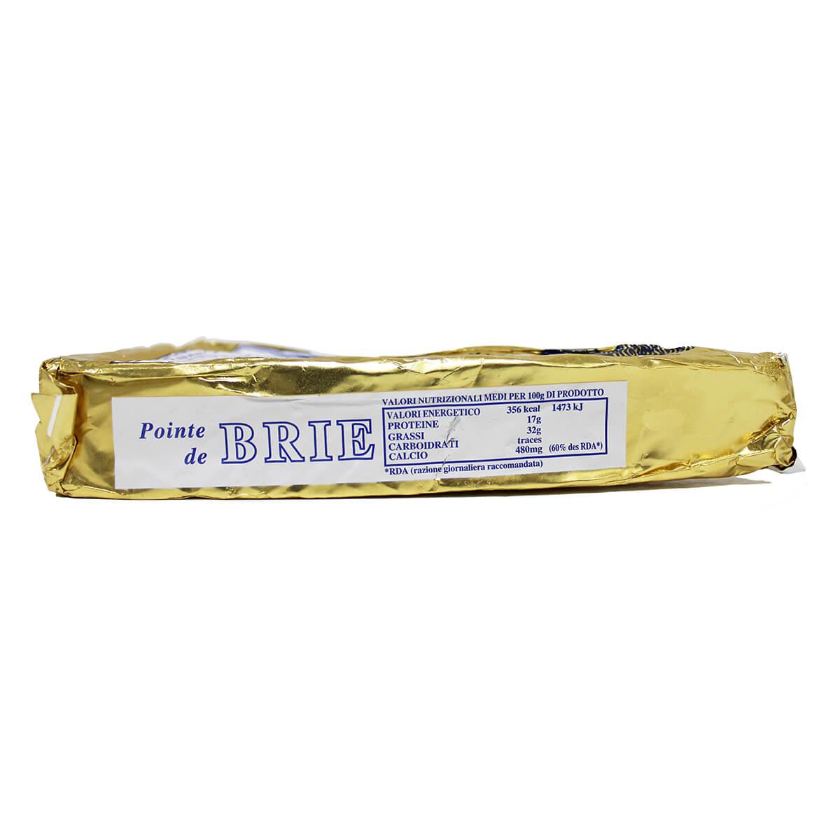 Moulin Du Boulay Brie Nutrition