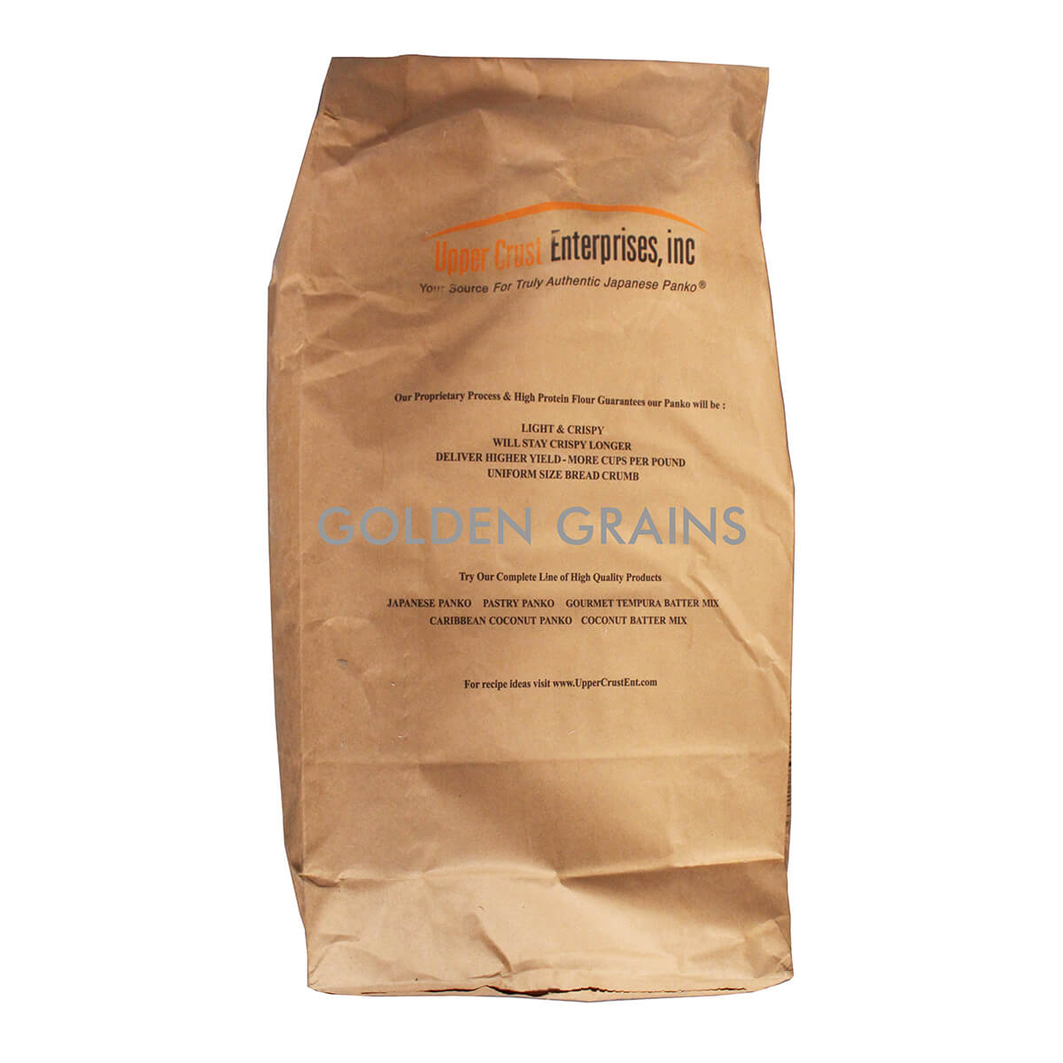 Golden Grains Icrest - Japan Bread Crumbs - 907KG - USA - Back.jpg
