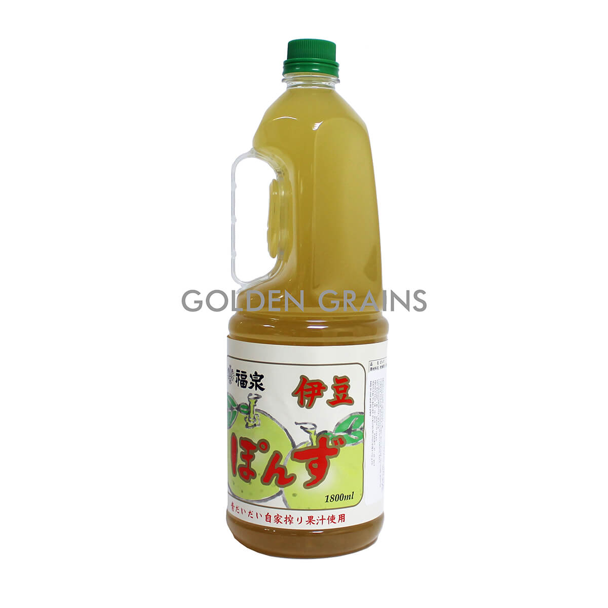 Golden Grains Fukuizumi - Ponzu Japanese Citrus - 1.8LTR - Front.jpg