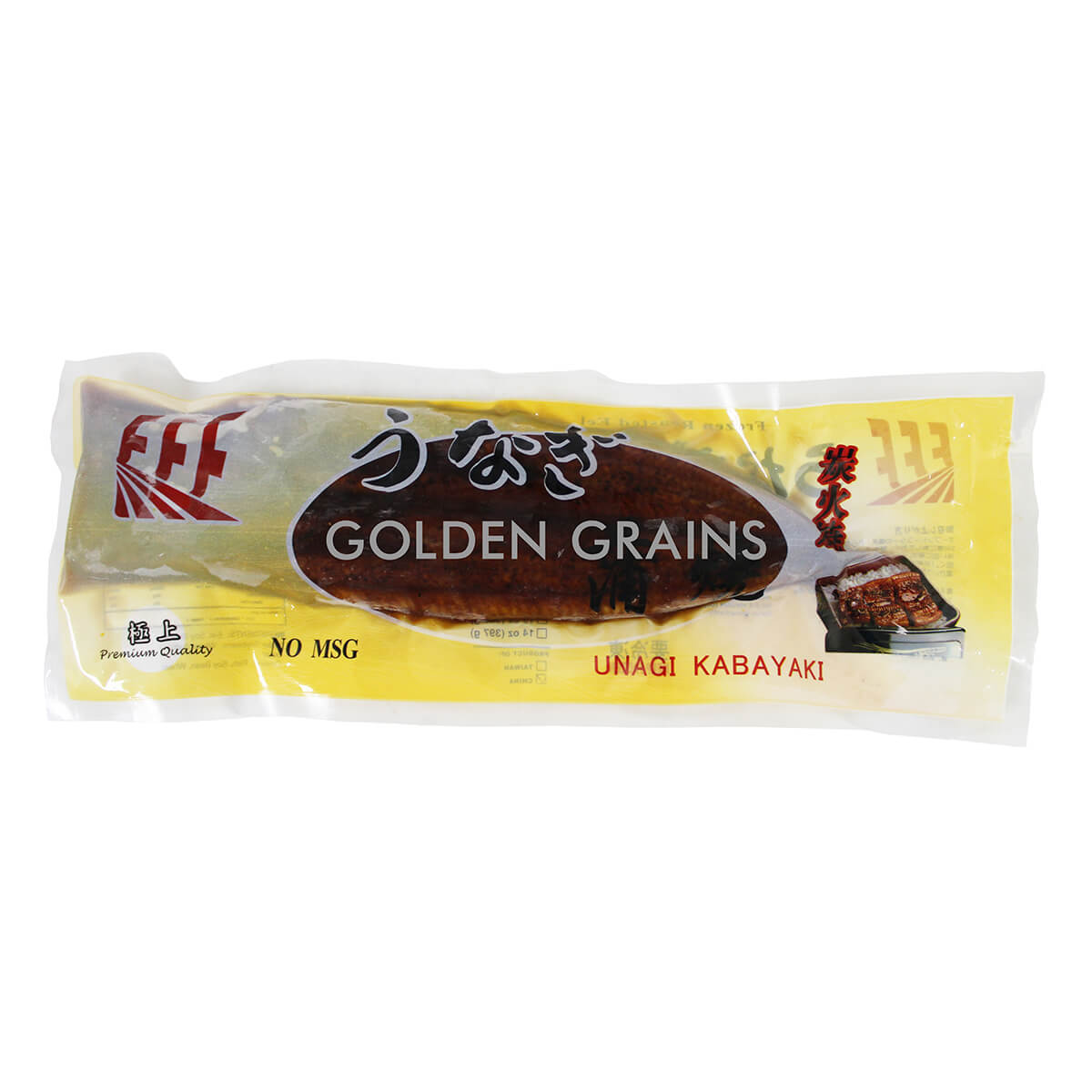 Golden Grains Unagi Kabayaki - 330G - China - Front.jpg