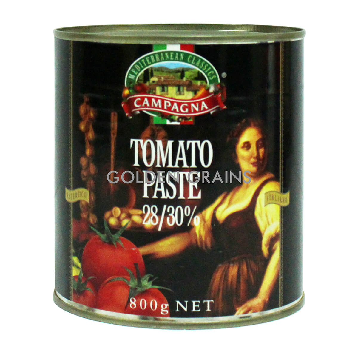 Golden Grains Campagna - Tomato Paste - 800G - Italy - Front.jpg