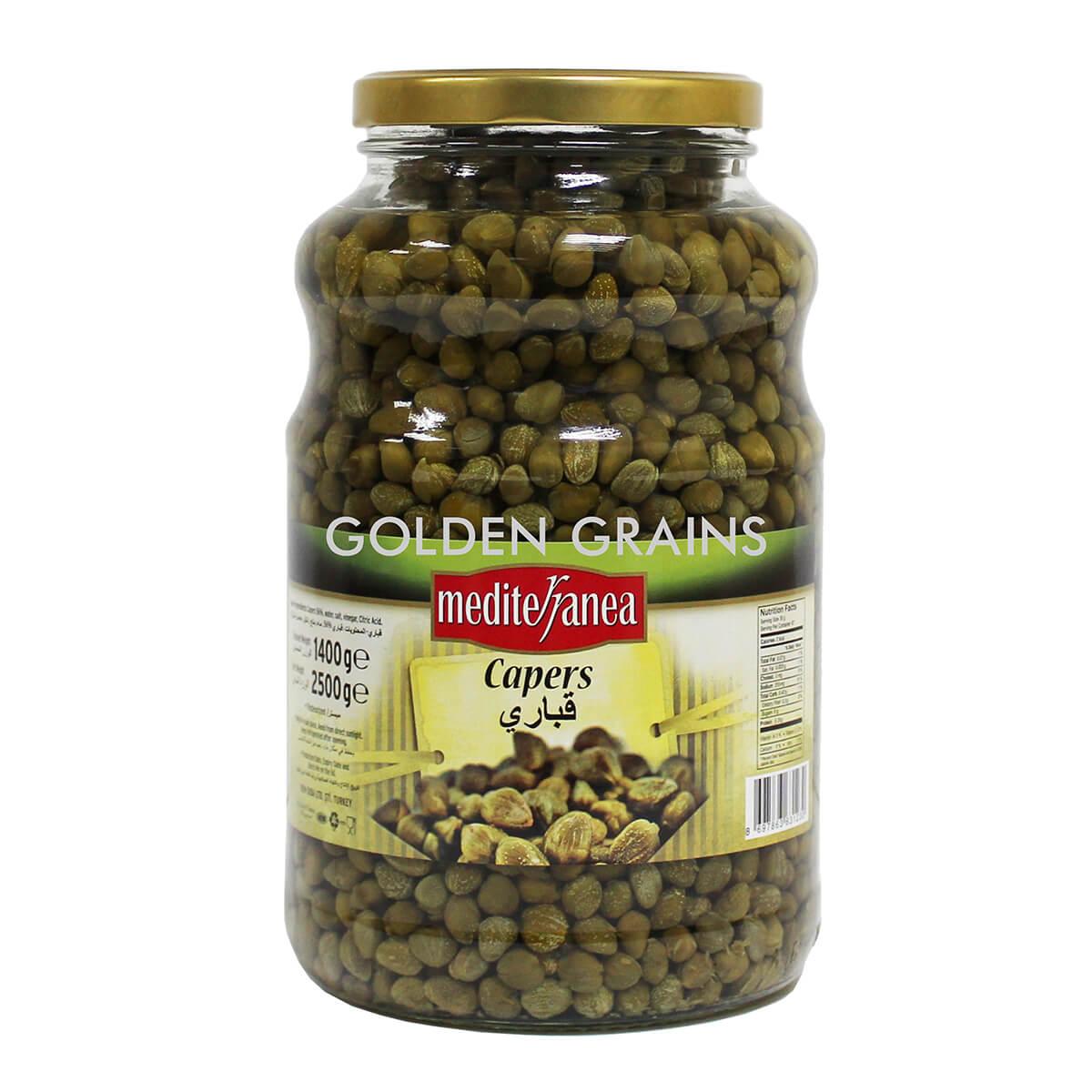 Golden Grains Dubai Export - Mediterranea - Capers - Front.jpg