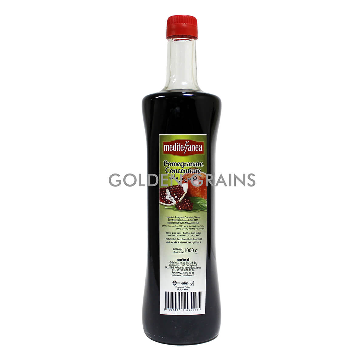 Golden Grains Dubai Export - Mediterranea - Pomegranate - Front.jpg
