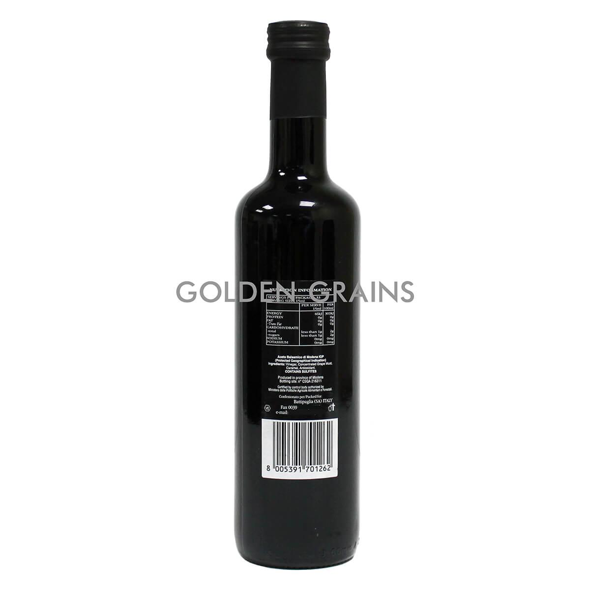 Golden Grains Campagna - Balsamic Vinegar - 500G - Italy - Back.jpg
