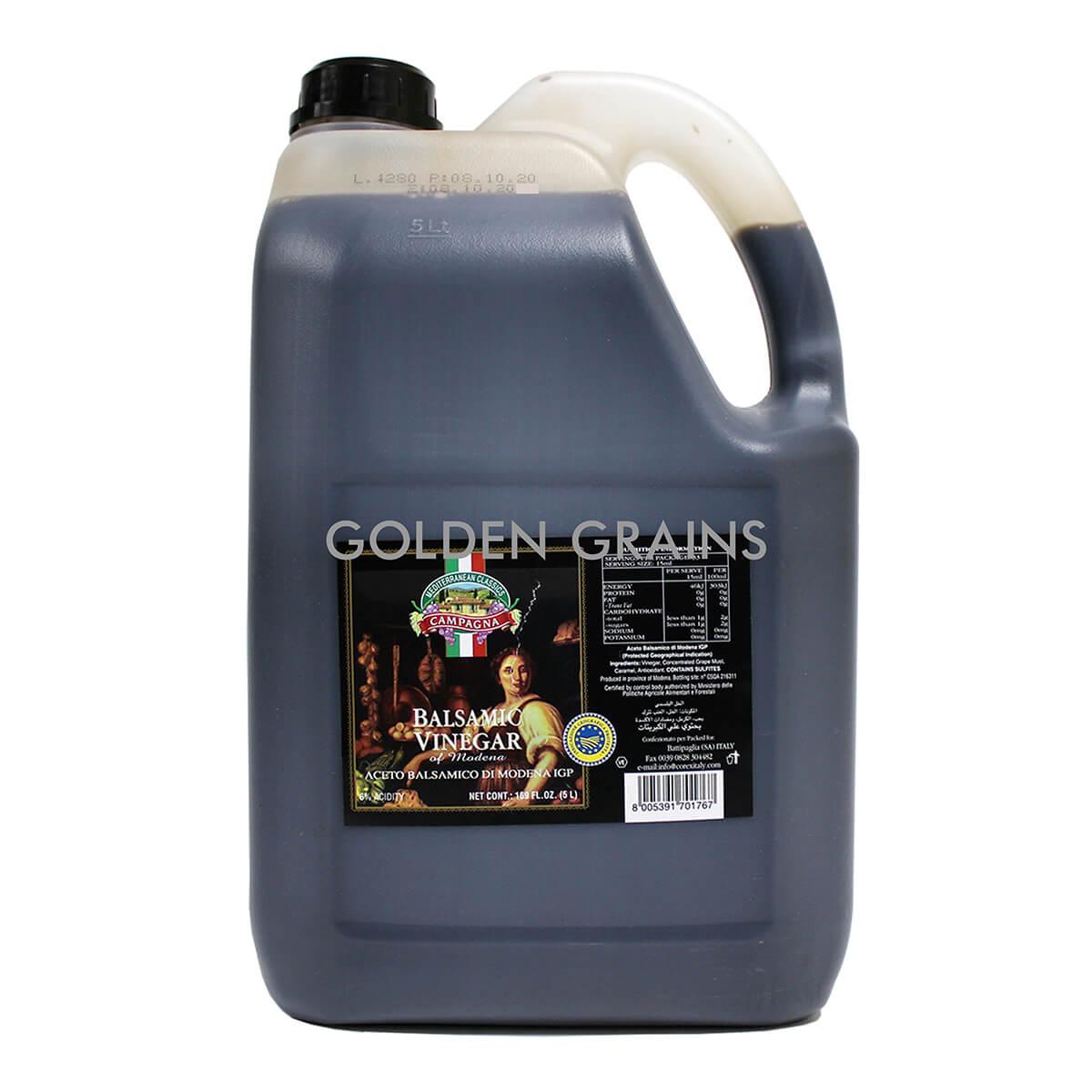 Golden Grains Campagna - Balsamic Vinegar in Container - 5LTR - Front.jpg