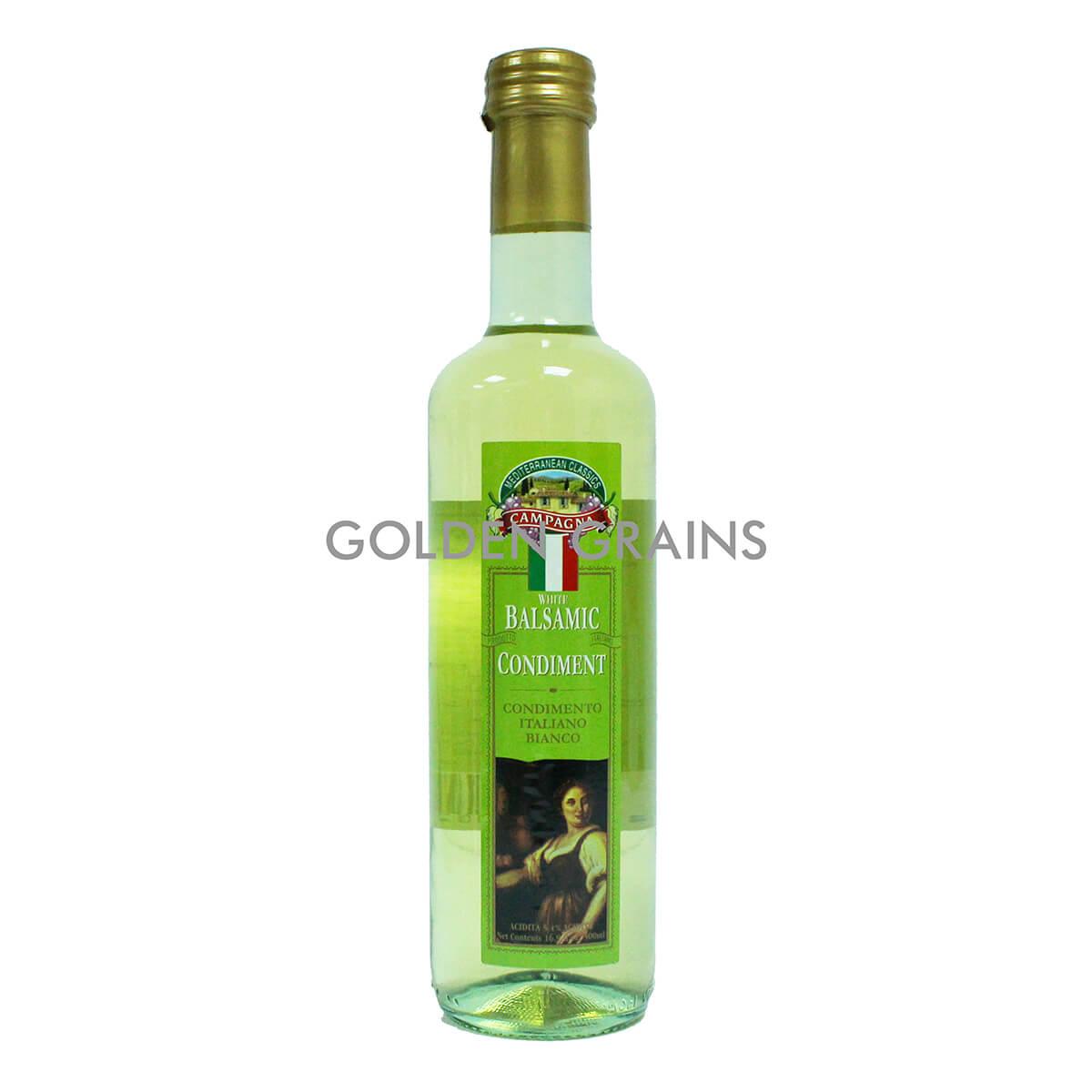 Golden Grains Campagna - Balsamic Vinegar - 500ML - Italy - Front.jpg