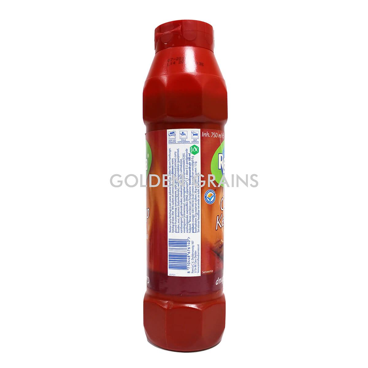 Golden Grains Dubai Export - Remia - Curry Ketchup - Side.jpg