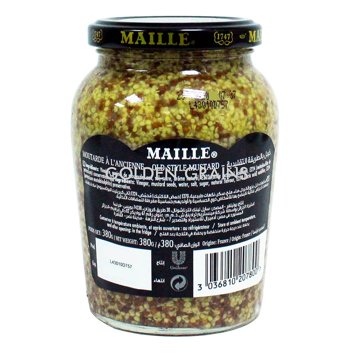 Golden Grains Dubai Export - Maille - Ancienne - Back.jpg