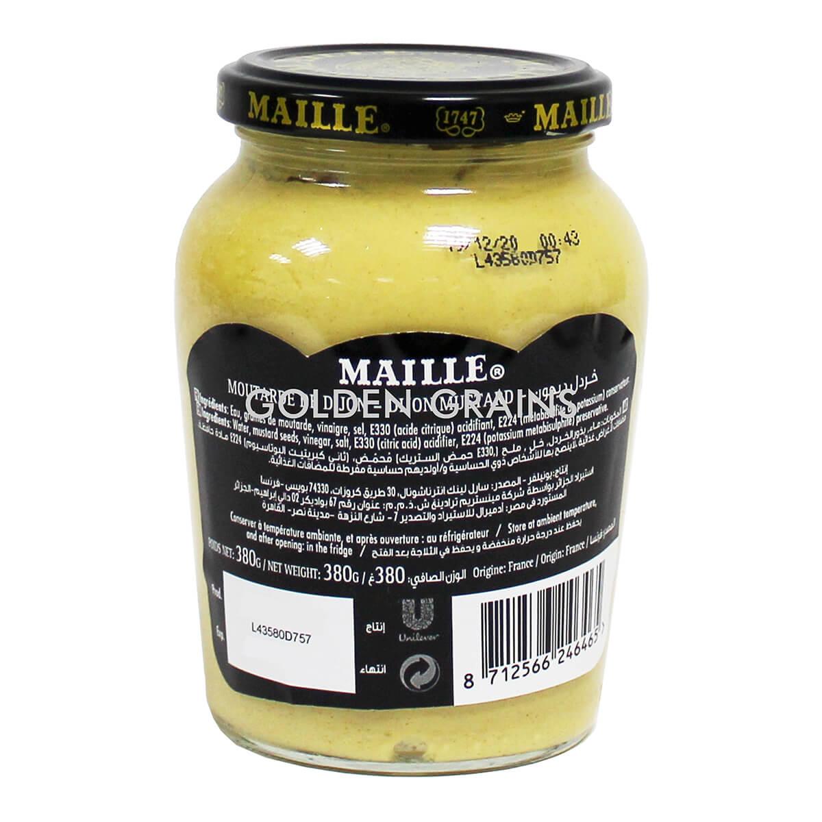 Golden Grains Dubai Export - Maille - Fine Di Dijon - Back.jpg