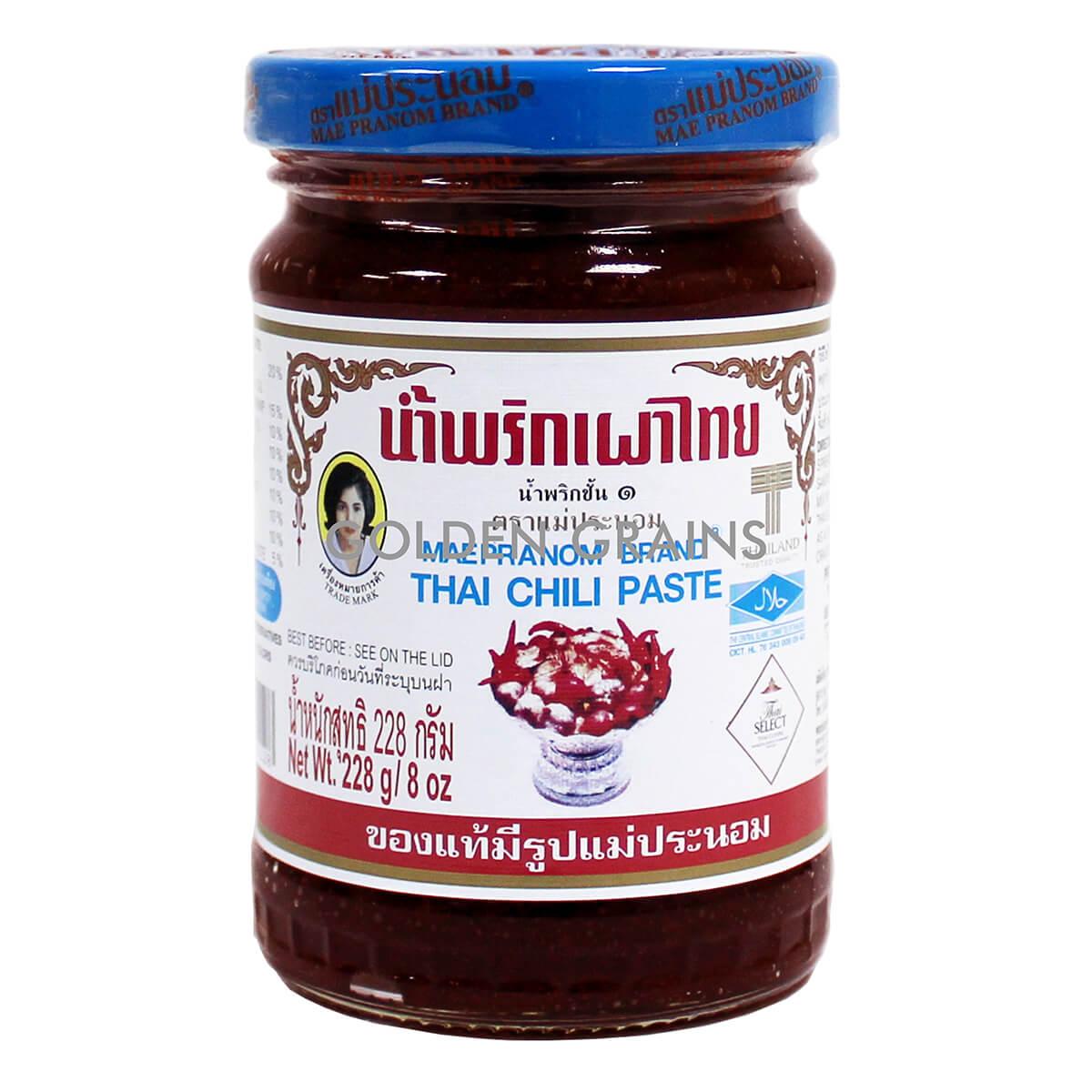 Golden Grains Dubai Export - Maepranom Brand - Thai Chili Paste - Front.jpg