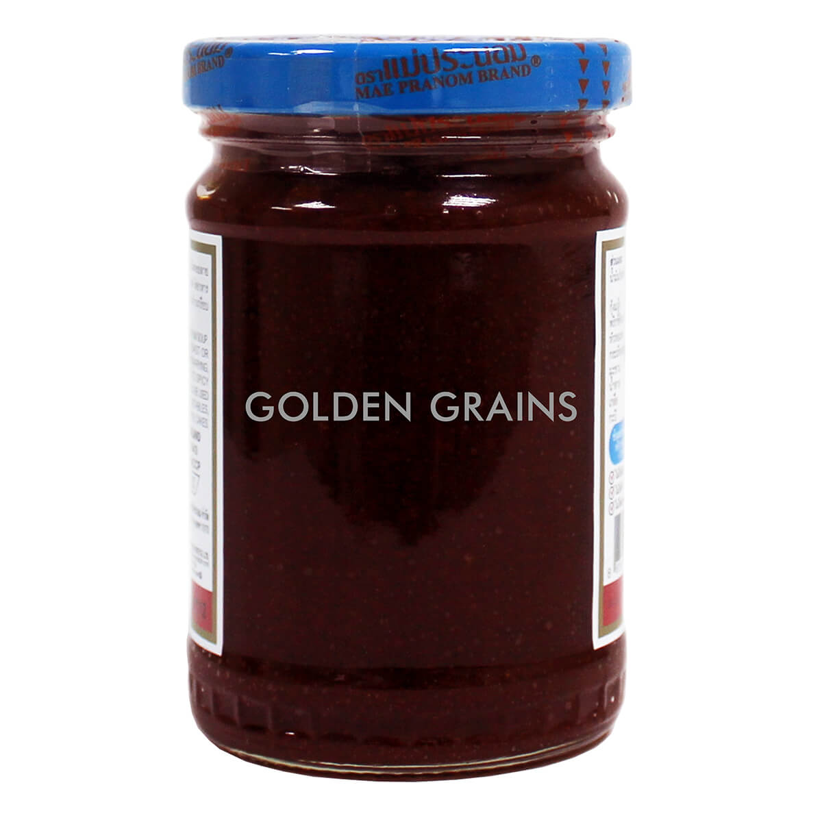 Golden Grains Dubai Export - Maepranom Brand - Thai Chili Paste - Back.jpg
