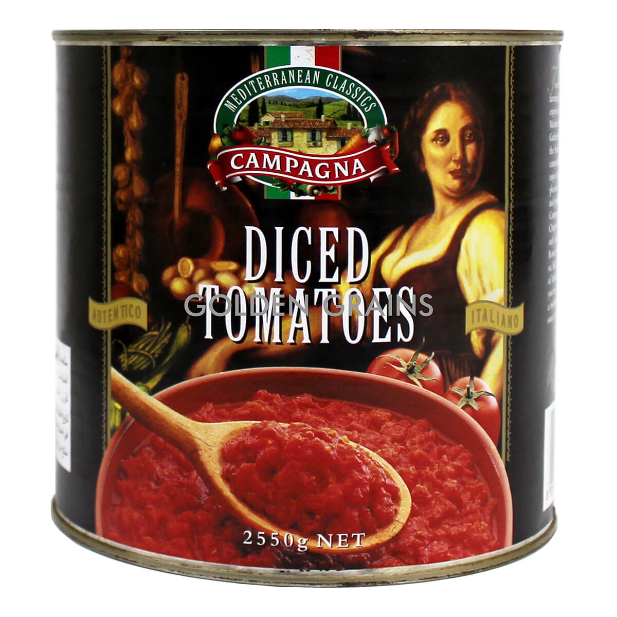 Golden Grains Dubai Export - Campagna - Diced Tomatoes - Front.jpg