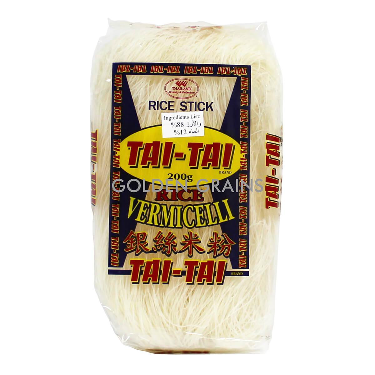 Golden Grains Dubai Export - Tai Tai - Rice Vermicelli - Front.jpg