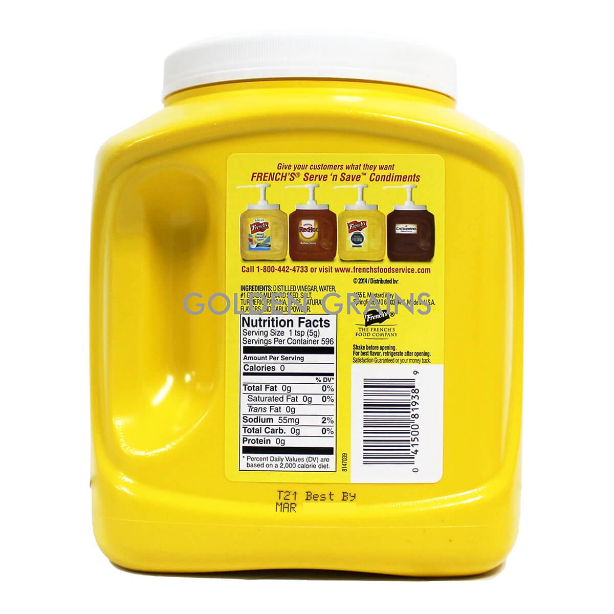 Golden Grains Dubai Export - Frenchs - Mustard Big - Back.jpg