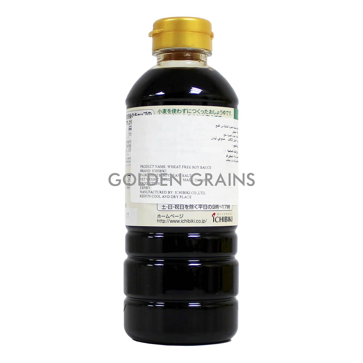 Golden Grains Dubai Export - Ichibiki Soy Sauce - Back.jpg
