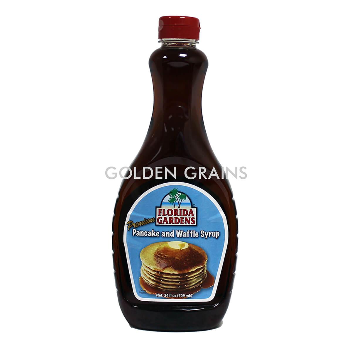 Golden Grains Dubai Export - Florida Garden - Pancake and Waffle Syrup - Front.jpg