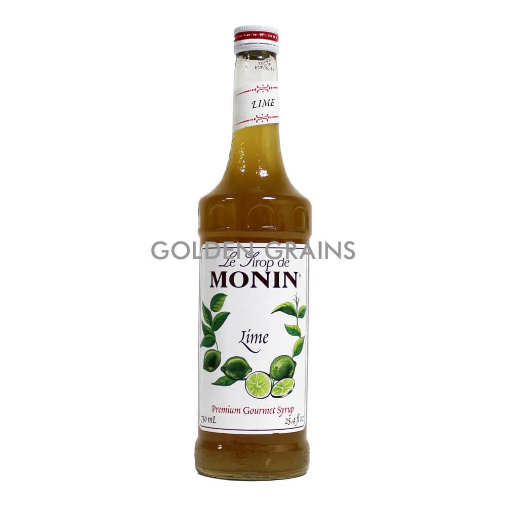 Golden Grains Monin Syrup - Lime - Front.jpg