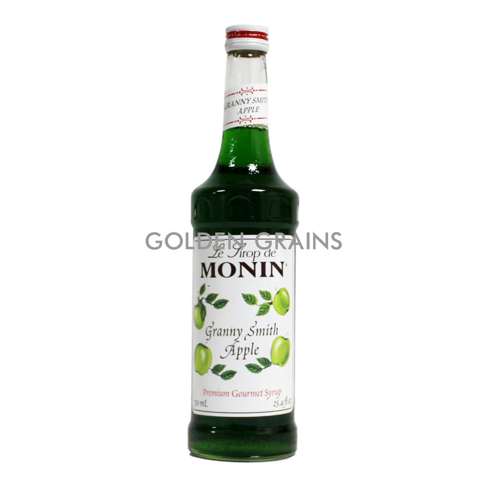 Golden Grains Monin Syrup - Granny Apple Smith - Front.jpg