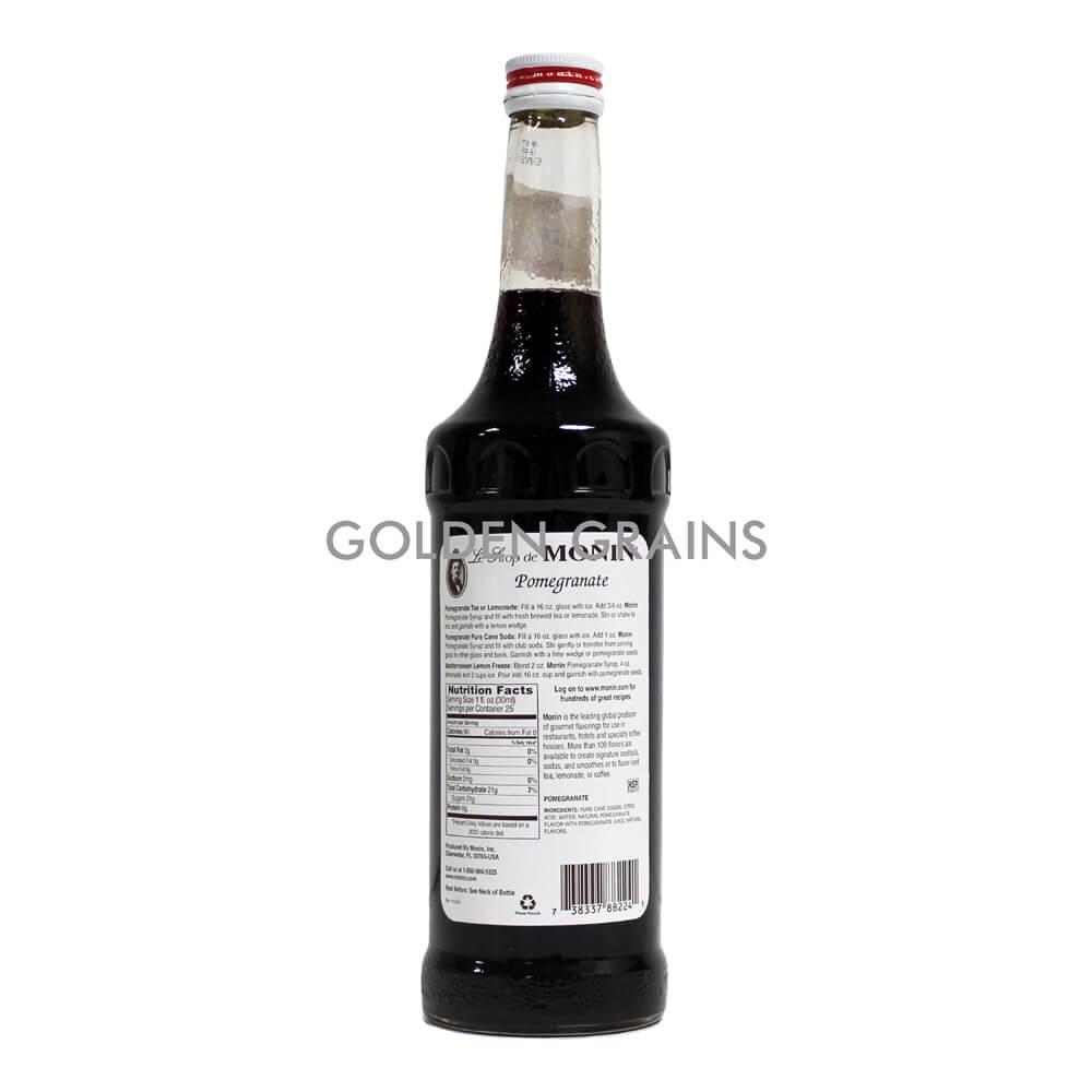 Golden Grains Monin Syrup - Pomegranate - Back.jpg