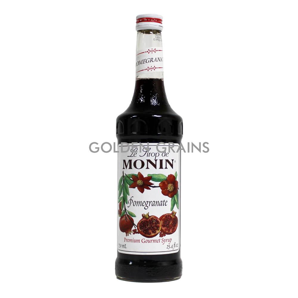 Golden Grains Monin Syrup - Pomegranate - Front.jpg