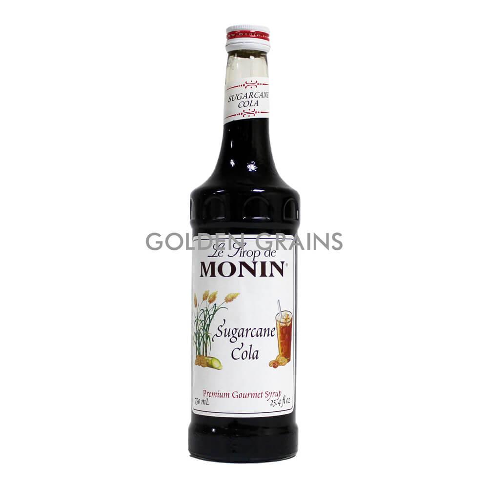 Golden Grains Monin Syrup - Sugarcane Cola - Front.jpg