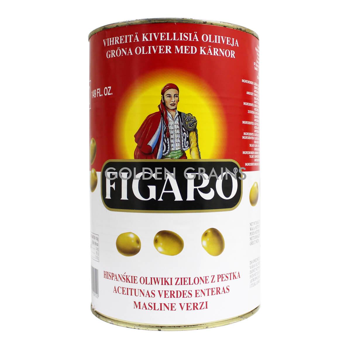 Golden Grains Figaro - Green Olives - Front.jpg