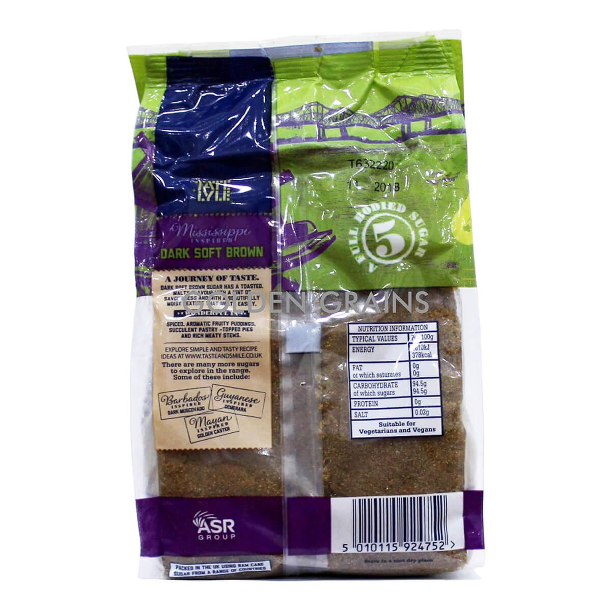 Golden Grains Tate & Lyle - Dark Soft Brown Sugar - Back.jpg
