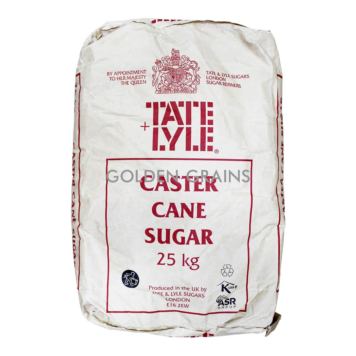 Golden Grains Tate & Lyle - Caster Sugar 25KG - Front.jpg