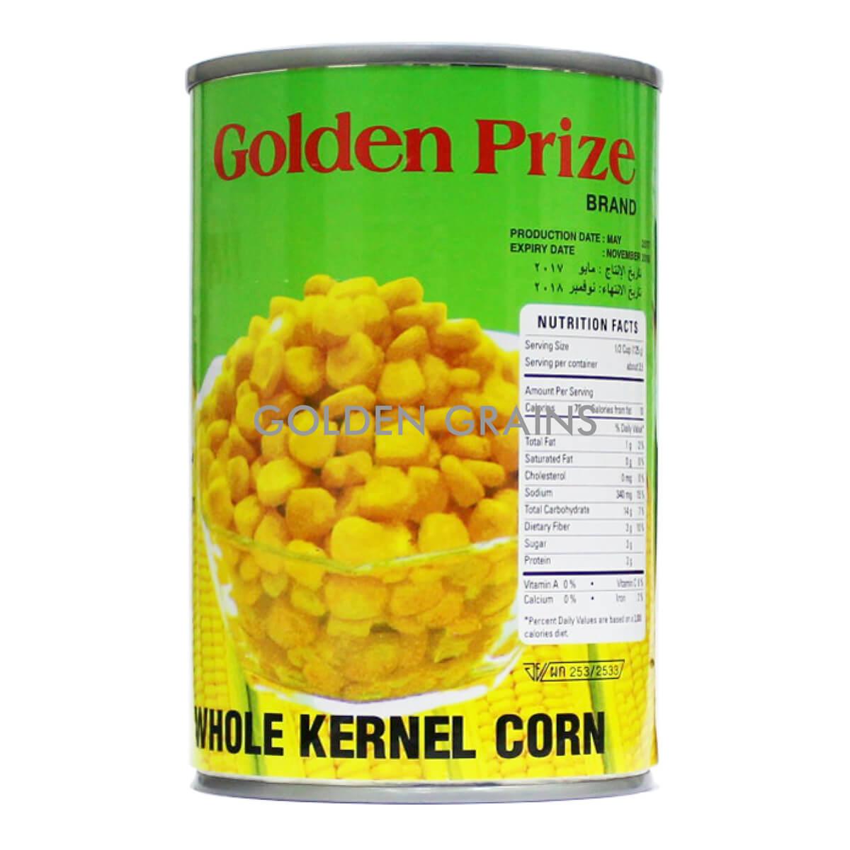 Golden Grains Golden Prize - Whole Kernel Corn 2017 SM - Front.jpg