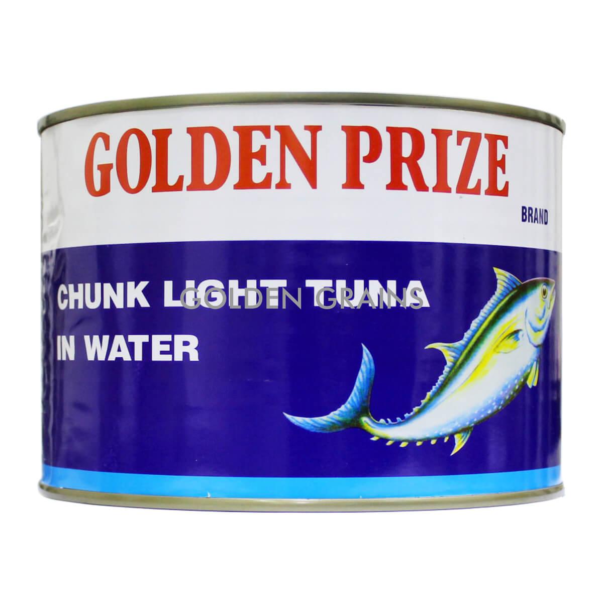 Golden Grains Golden Prize - Tuna in Veg Water 2017 - Front.jpg