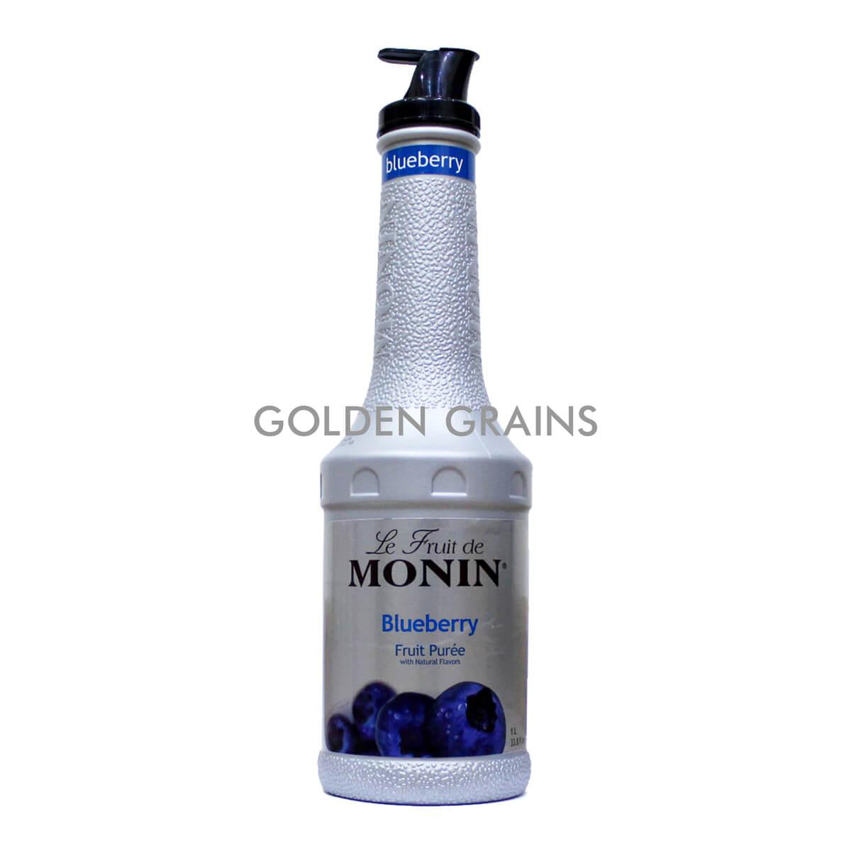Golden Grains Monin - Blueberry Puree - Front.jpg