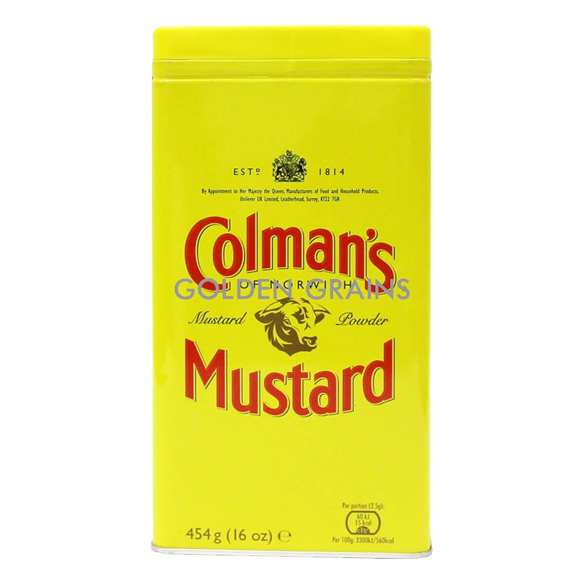 Golden Grains Colmans - Mustard 454G - Front.jpg