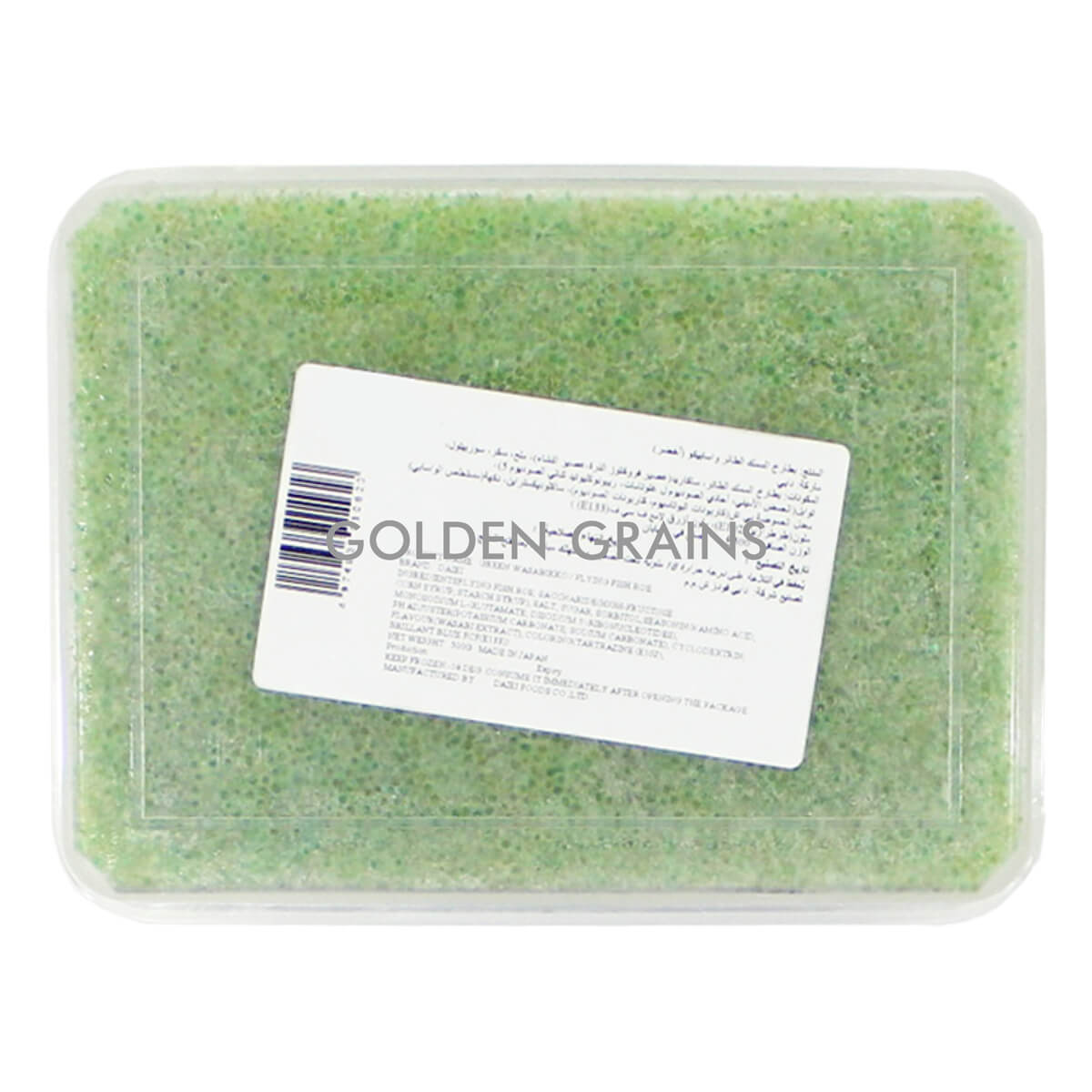 Golden Grains Daiei - Green Tobiko - Back.jpg