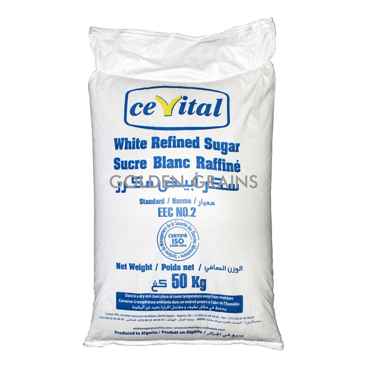 Golden Grains - Cevital - Sugar Bag - Front.jpg