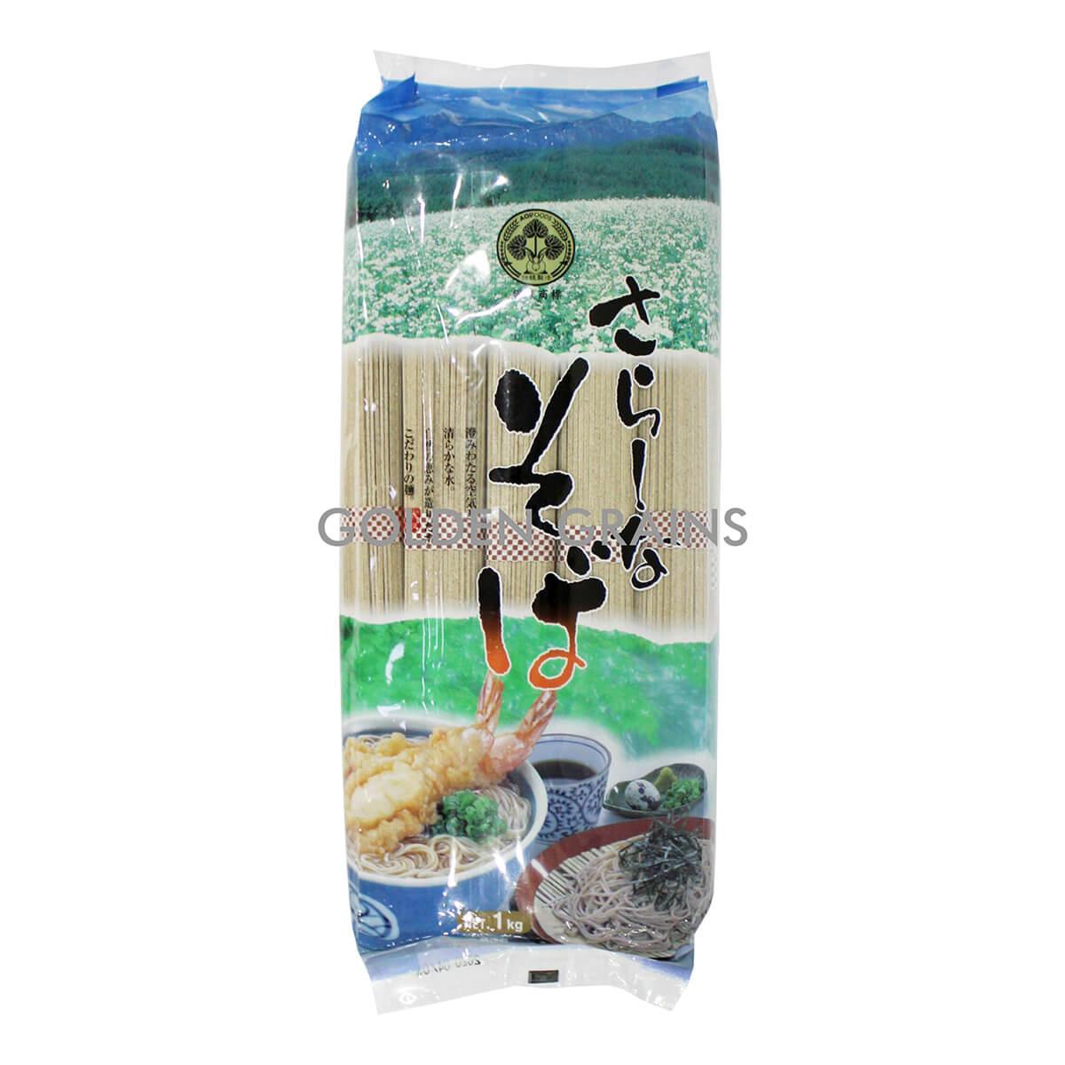 Golden Grains Aoi Foods - Soba 1kg - Front.jpg