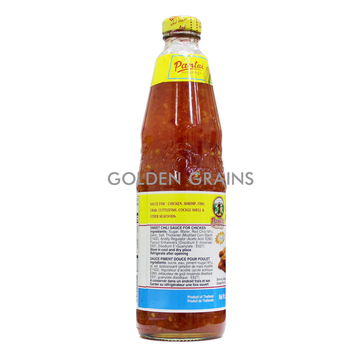 Golden Grains Pantai - Sweet Chili Sauce Bottle - Back.jpg