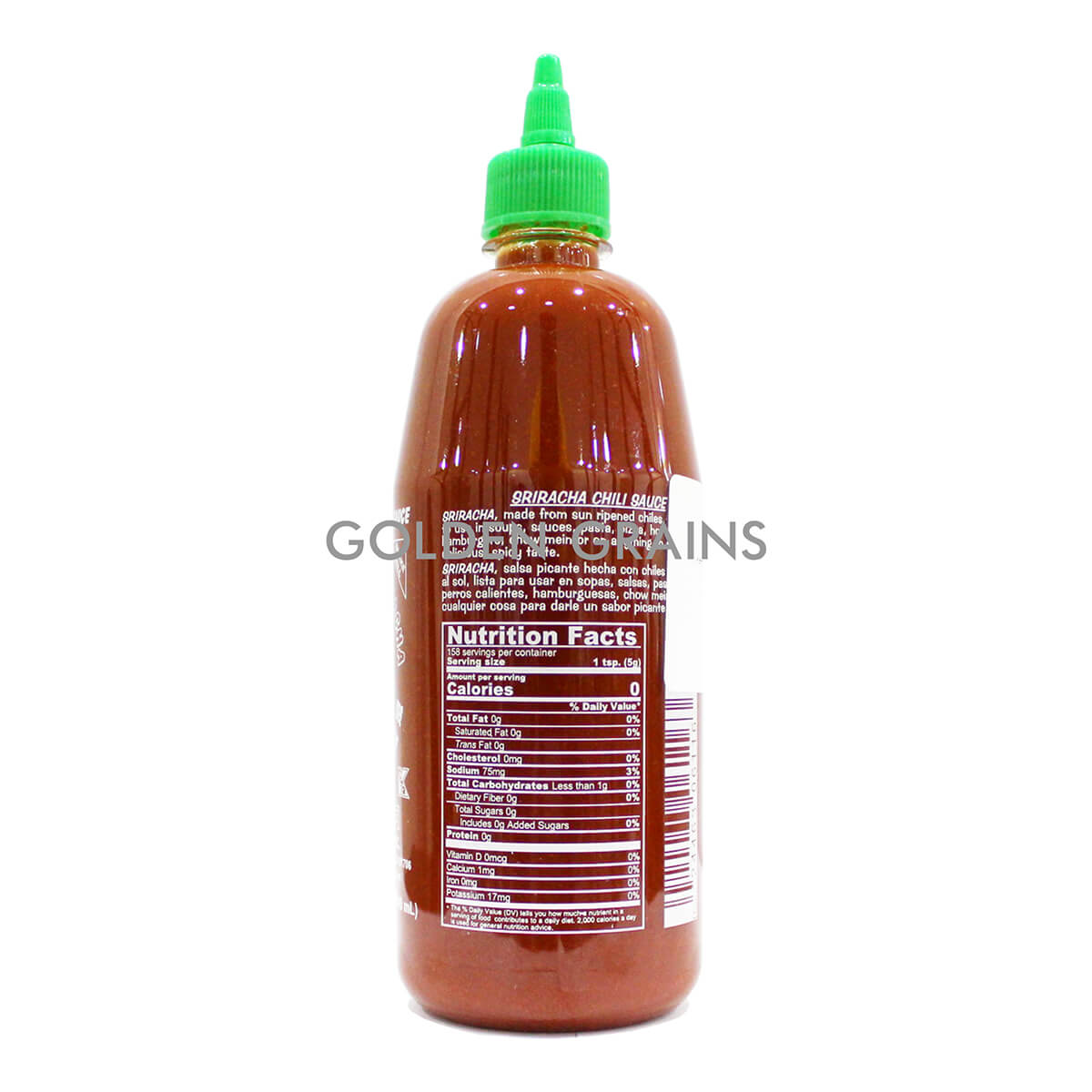 Golden Grains Huy Fong - Sriracha 793G -Back.jpg