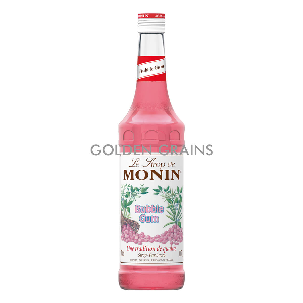 Golden Grains Monin - Bubble Gum Syrup - Front.jpg