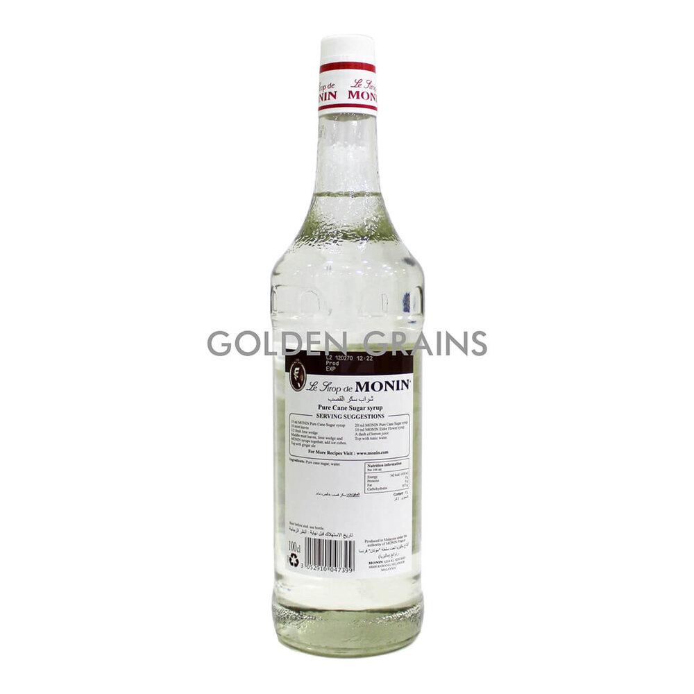 Golden Grains - Monin - Pure Cane 1LTR - Back.jpg