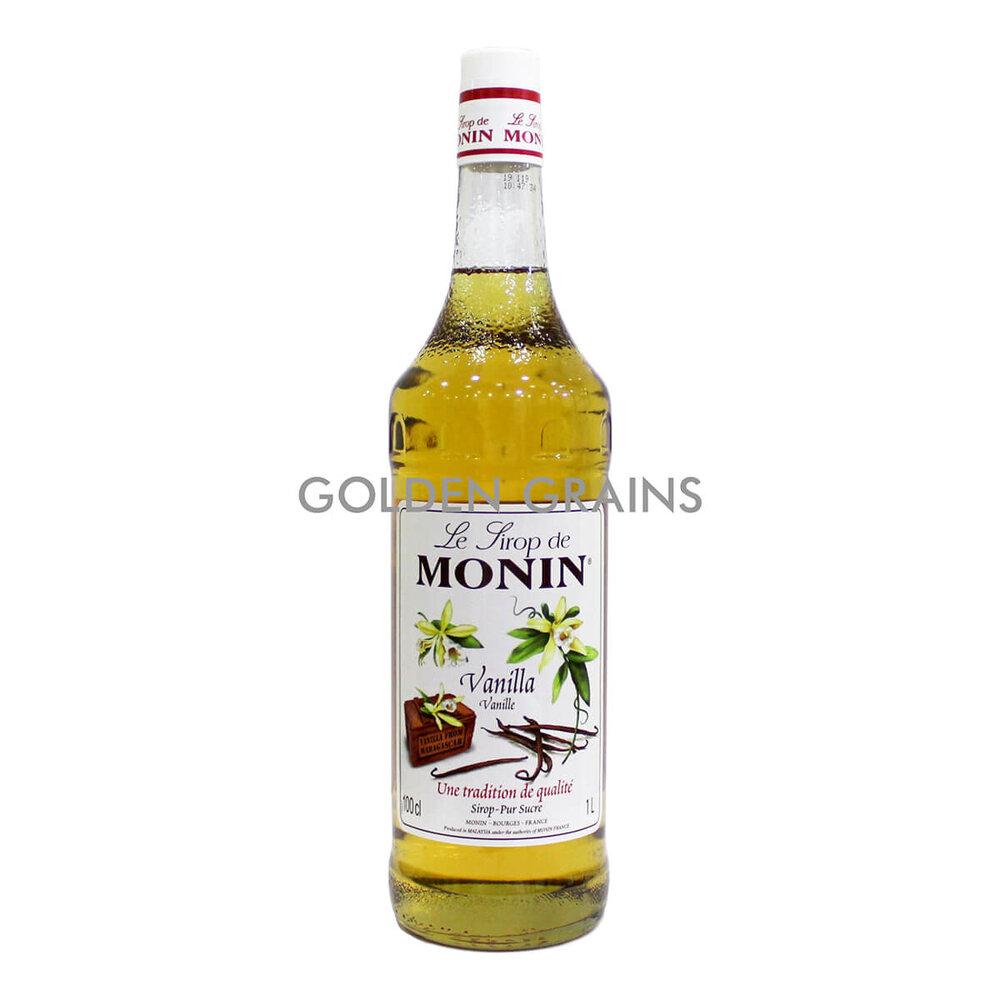 Golden Grains - Monin - Vanilla 1LTR - Front.jpg