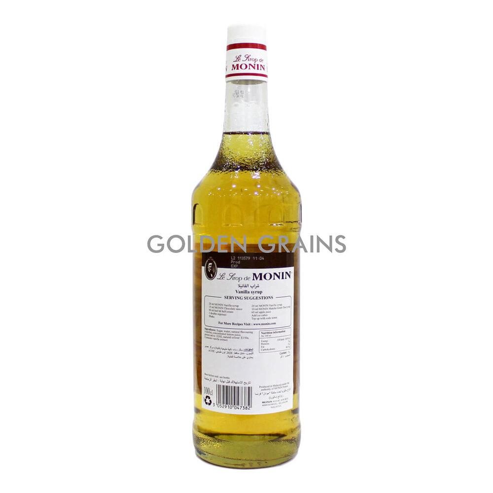 Golden Grains - Monin - Vanilla 1LTR - Back.jpg