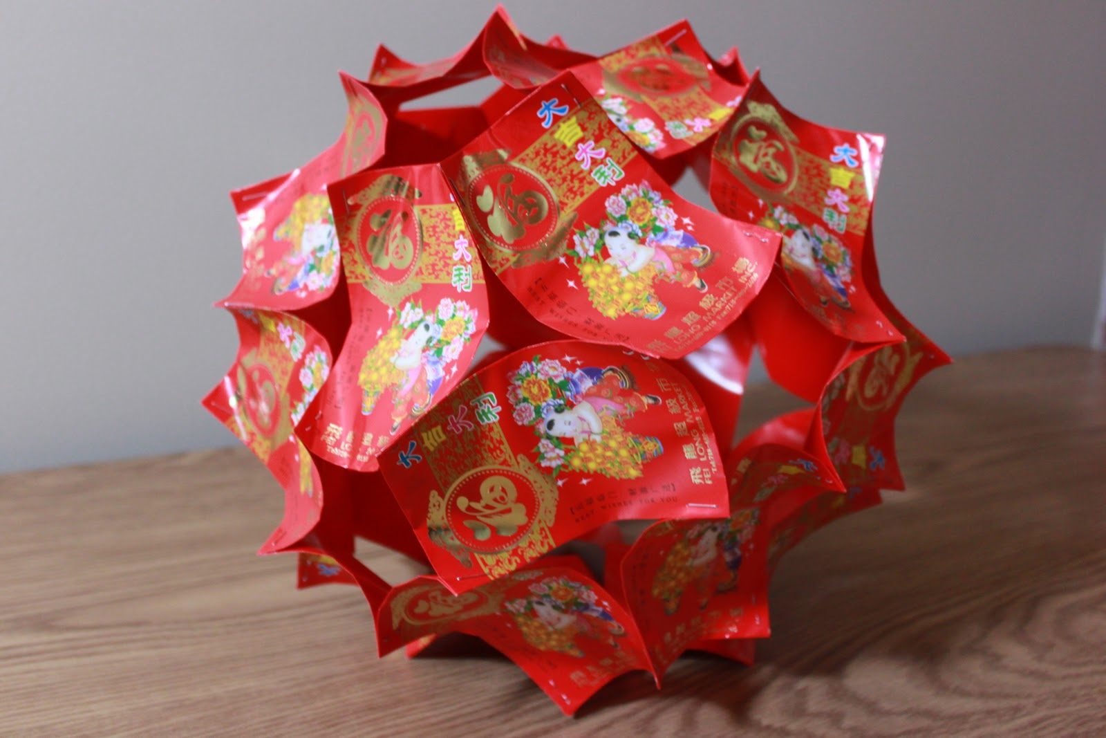 Beautiful lucky red lantern to decorate your home for the lunar new year...
